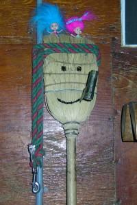 Winston the broom